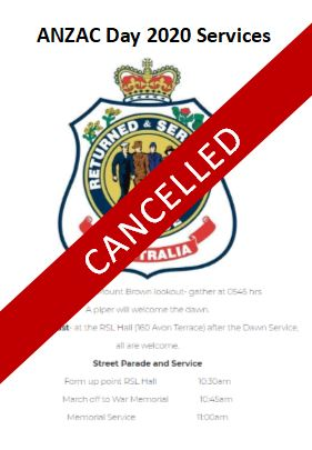 EVENT CANCELLED - ANZAC Day - Dawn Service and Gunfire Breakfast