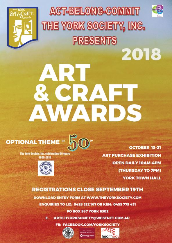 2018 Annual Art & Craft Awards
