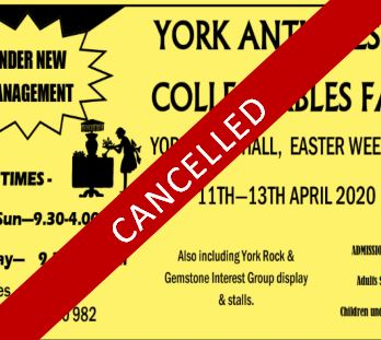 EVENT CANCELLED- York Easter Fair 2020