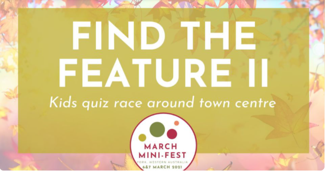 March Mini Fest - Find the Feature 2 Quiz Race