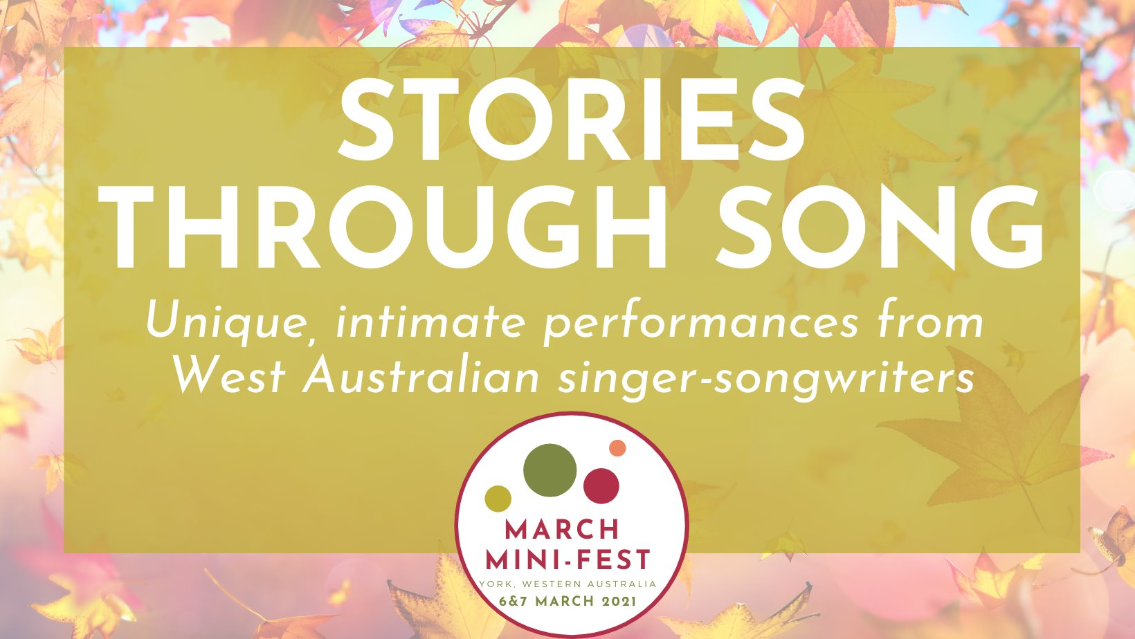 March Mini Fest - Stories through Song