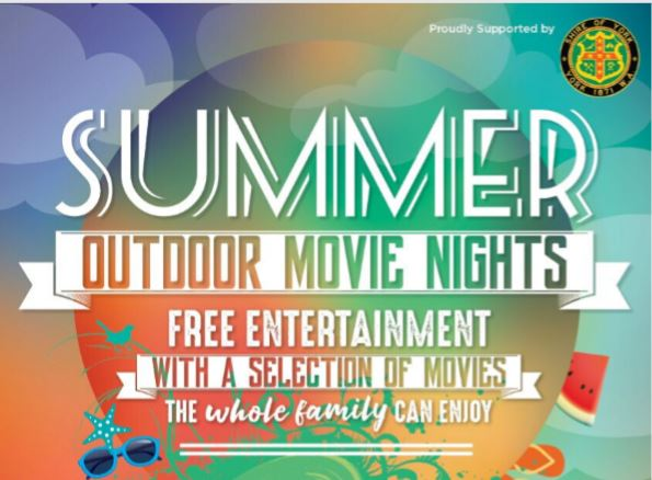 Outdoor Summer Movie Series